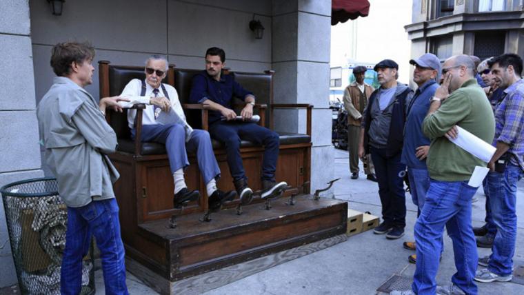 Stan Lee on Agent Carter 02