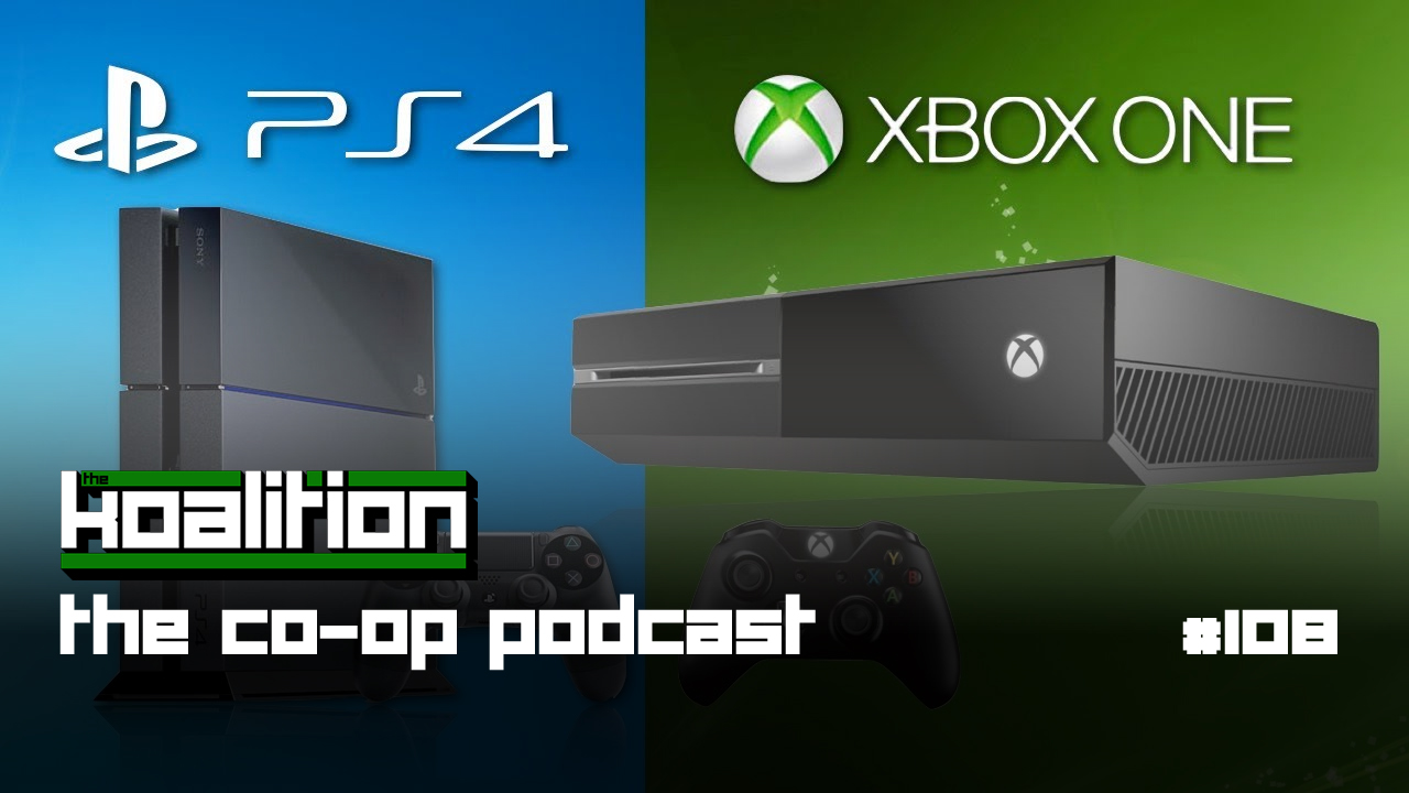 The Co Op Podcast 108 Will The PS4 Outsell The Xbox One