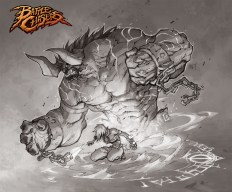 Battle Chasers - Bulgrim & Tona