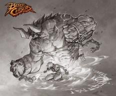 Battle Chasers - Bulgrim & Tona