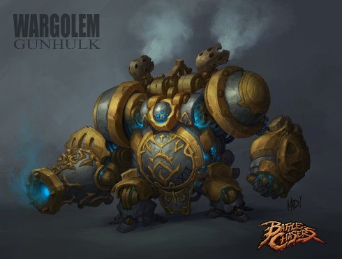 Battle Chasers - Golem Colors