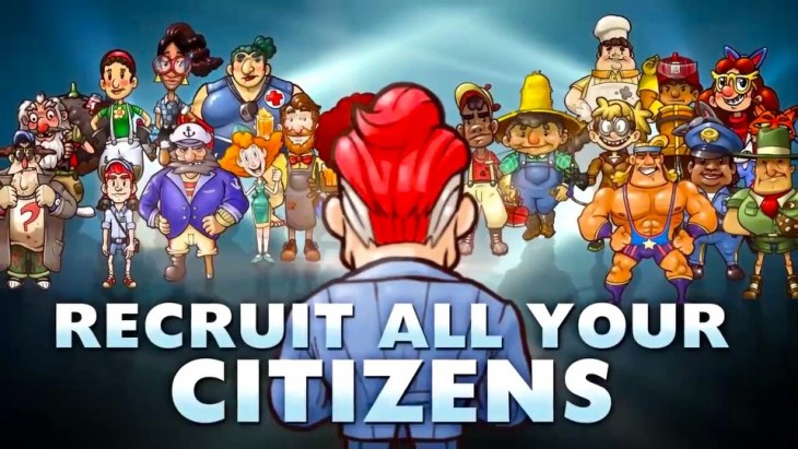 Citizens of Earth-Characters