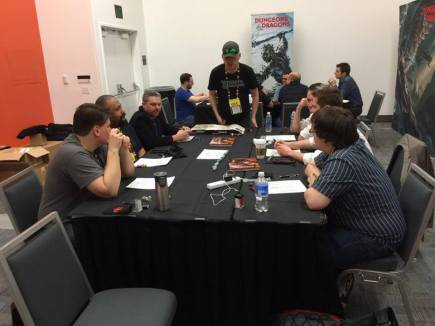D&D with Wizards of the Coast at GDC