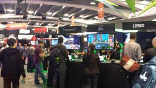 GDC 2015 Game Booth 1