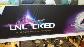 GDC 2015 Intel Sign 1