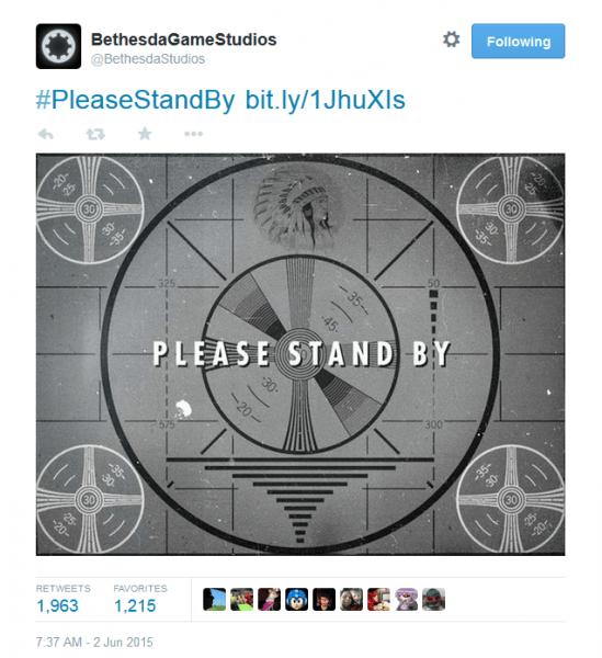 Fallout twitter