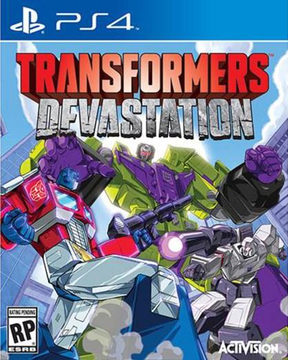 Transformers - Devastation box art