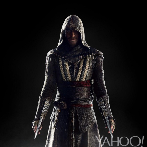 Michael Fassbender - Assassin's Creed movie costume