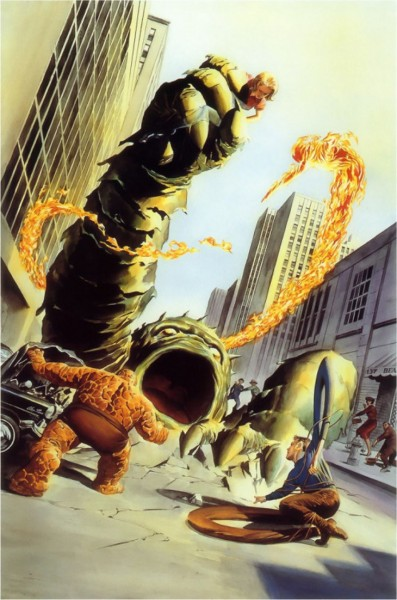 Fantastic Four #1 Alex Ross