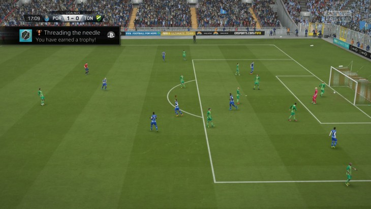 FIFA 16 Career Match 1-0 POR V TON, 1st Half