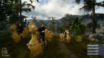 Final Fantasy XV - Chocobo Riding