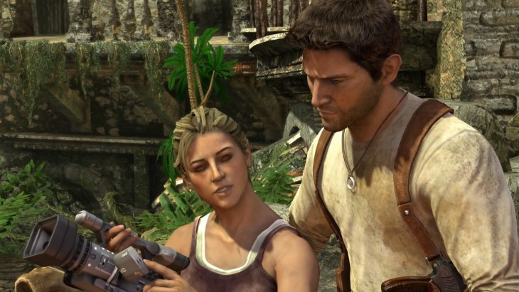 Uncharted: Drake's Fortune remastered screenshot