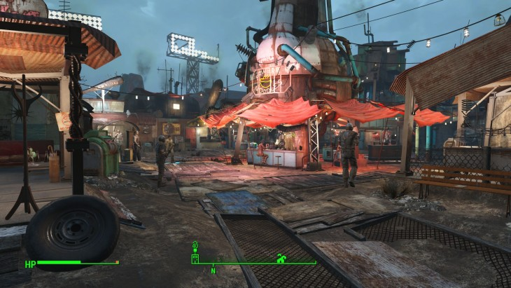 Fallout 4 review - diamond city