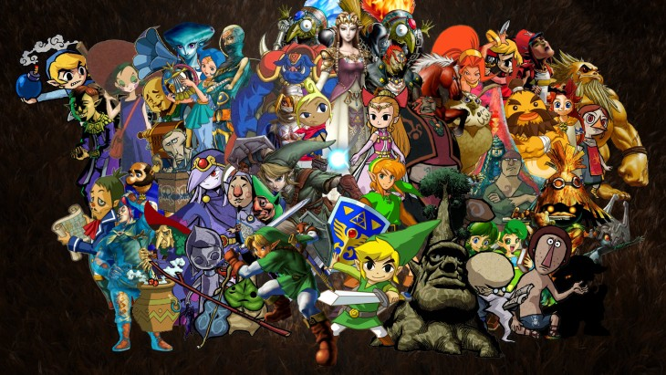 zelda_collage_wallpaper__widescreen__by_lockstin-d60q25j