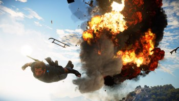 Just Cause 3 Aerial Explosion