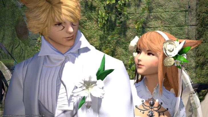 Final Fantasy XIV wedding