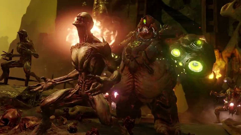 DOOM Will Run At 1080p60fps On PC PS4 And Xbox One
