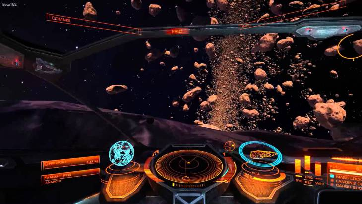 Elite Dangerous is one of many games that will showcase the power of VR technology.