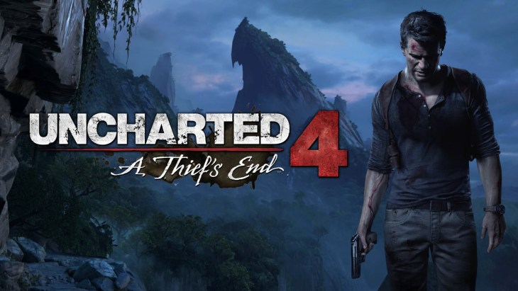 uncharted 4 box art