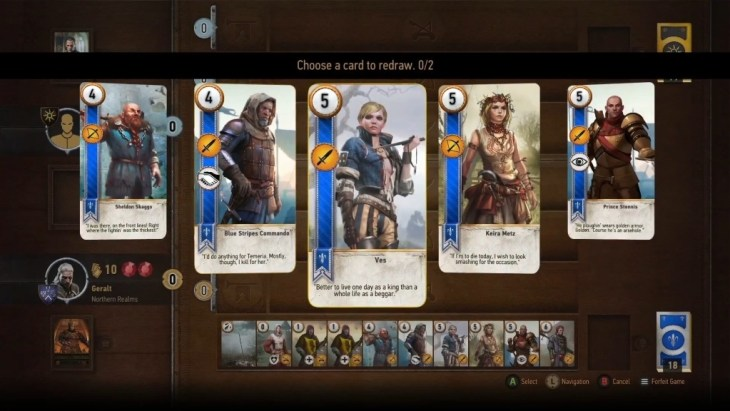 You'll become a Gwent pro in no time.