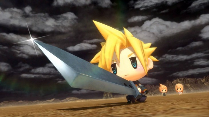 Cloud in World of Final Fantasy