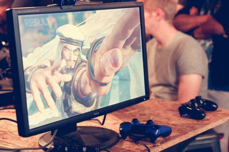 Street Fighter V at GamePad by mayamada
