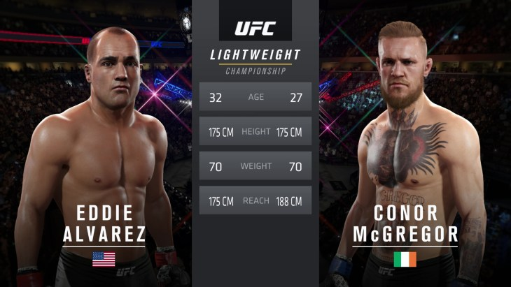 UFC 205: Alvarez vs. McGregor - Lightweight Title Match