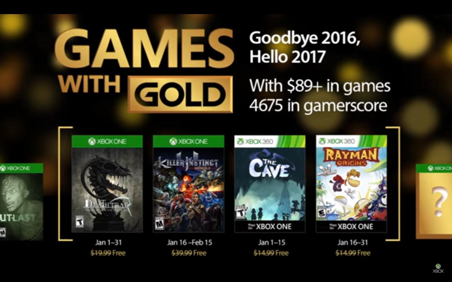 January Games With Gold Announced The Koalition