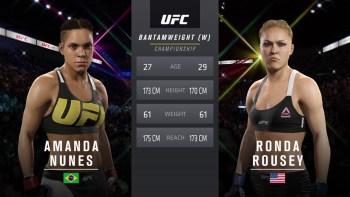 UFC 207: Nunes vs. Rousey - Women's Bantamweight Title Match