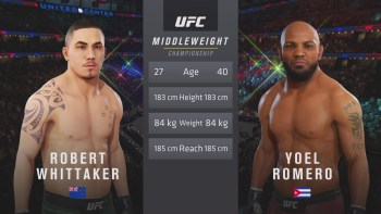 UFC 225: Whittaker vs. Romero 2 – Middleweight Title Match
