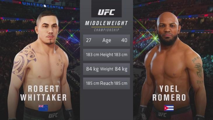 UFC 225: Whittaker vs. Romero 2 – Middleweight Title Match
