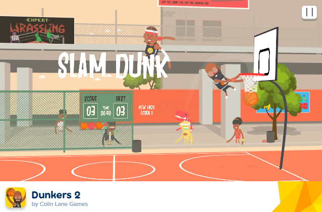 dunkers screenshot