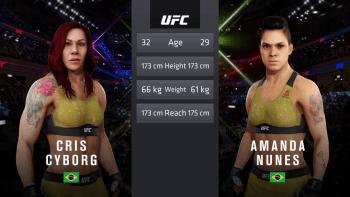 UFC 232 Cyborg Nunes
