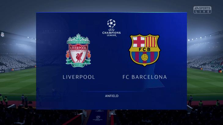 Liverpool vs. Barcelona