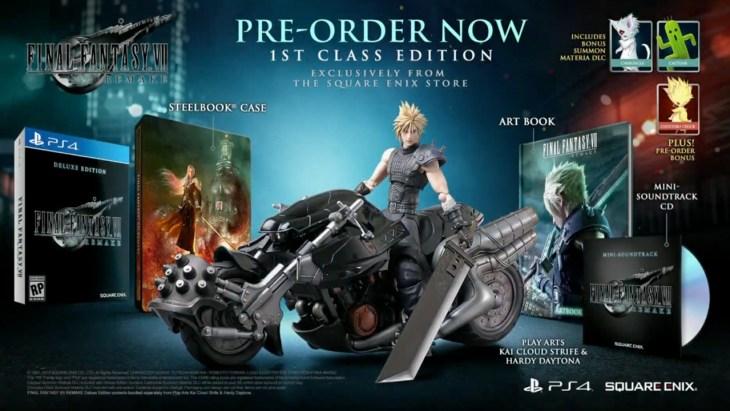 Final Fantasy VII Remake collectors' edition