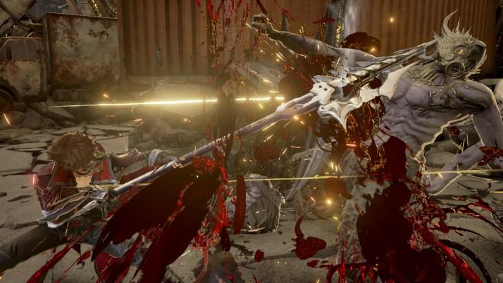 Code Vein action screenshot