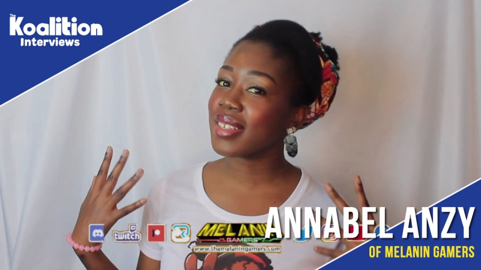 An interview with Annabel of the Melanin Gamers