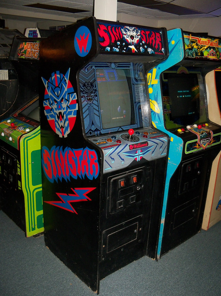Sinistar one of the great games in arcade history