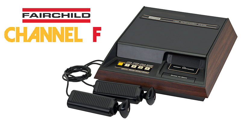 The Fairchild Channel F system which was pioneered by Jerry Lawson
