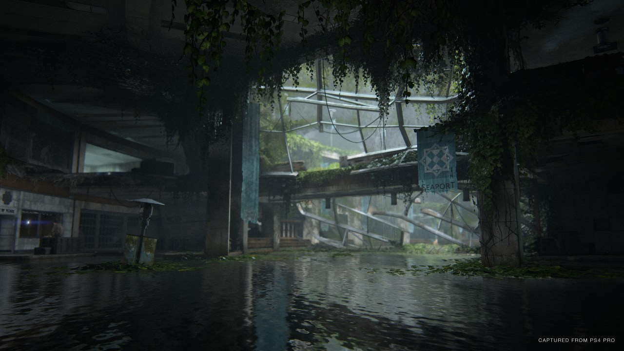 The Last of Us 2 Seattle boat water
