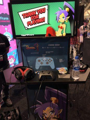 Finally got to play the new Shantae!