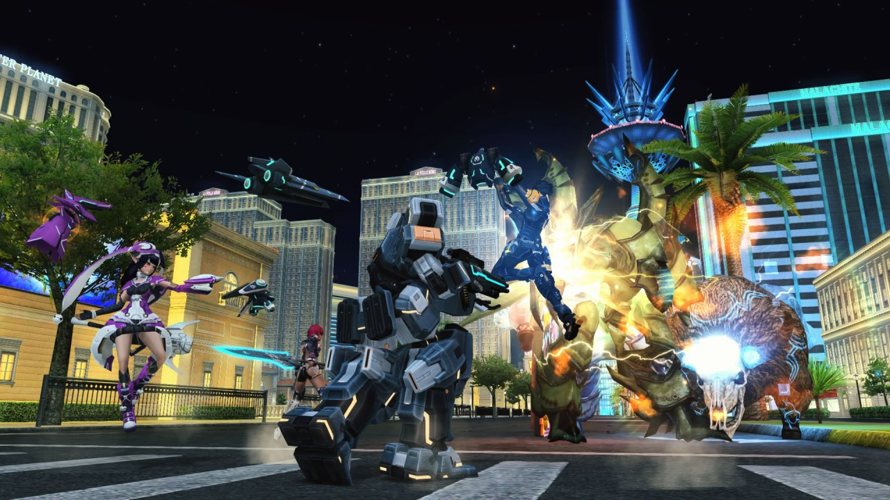 PSO2 screenshot