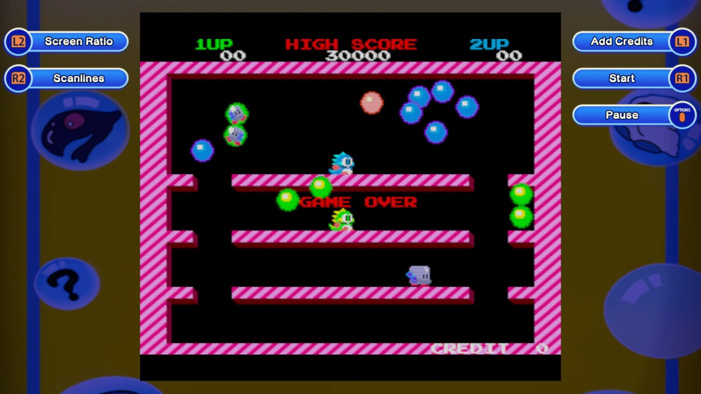Bubble Bobble screenshots