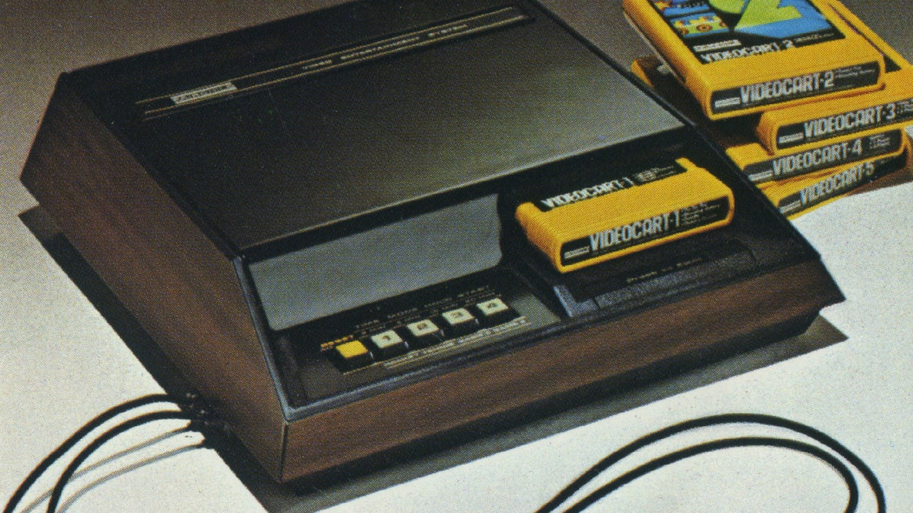 Raising The Game, the Fairchild Channel F