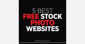 Read more about the article 5 Best Free Stock Photo Websites