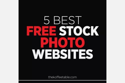 5 best free stock photo websites