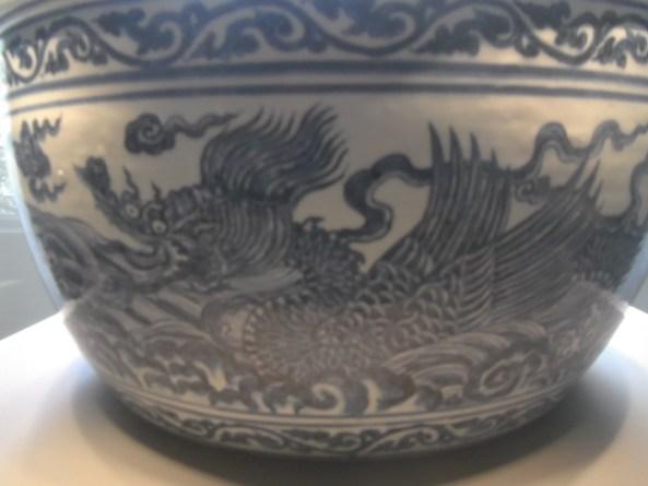 1. The Li Gang (large bowl) drragon