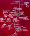 IChing mountain map