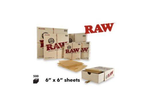 RAW PARCHMENT 6″ X 6″