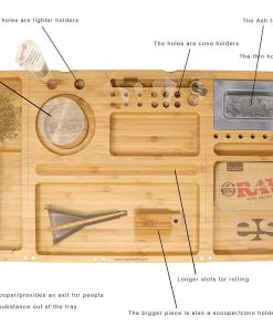 RAW_Rolling_Tray_Bamboo_Triple_Flip